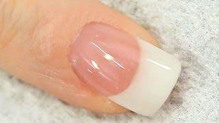 French White Acrylic Nail Tutorial Video By Naio Nails