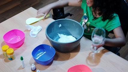 Tutorial Bikin Slime Jumbo Versi Romaria