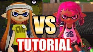 Splatoon VS Splatoon 2: Tutorial Level Comparison (Characters & Level Design) Wii U VS Switch