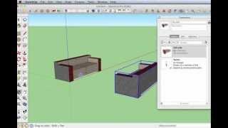 09 Sketchup Nederlands Tutorial Sofa Gebruik Van Components