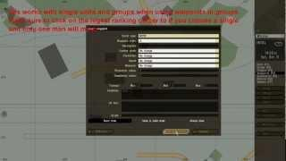 ARMA 2 Editor Tutorial Waypoints And Triggers Part 1 [dansk Arma 2]