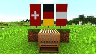 Banner mit dem neuen Loom Block erstellen - Minecraft 1.14 Tutorial