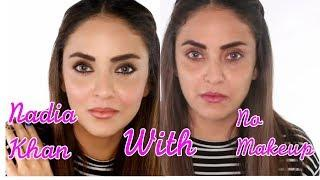 'No Makeup Look' Classy Makeup Tutorial | Nadia Khan No Makeup Look