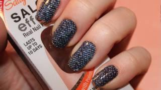 Tutorial: Sally Hansen Salon Effects Nail Polish Strips