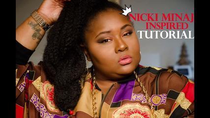 Nicki Minaj Inspired Makeup Tutorial