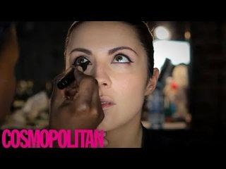 Cosmo beauty tutorial how to: sixties eye makeup