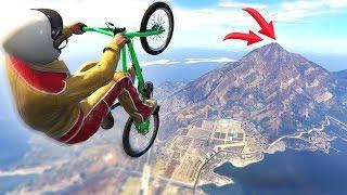 IMPOSSIBLE BMX FLIGHT CHALLENGE! (GTA 5 Funny Moments)