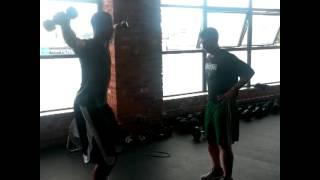 Avery Bradley Training