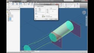 Inventor Autodesk Tutorial Parte04 - Italiano