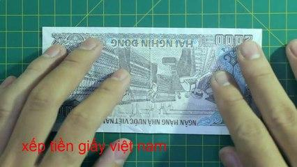 money origami bow tutorial  折り紙 | おりがみ