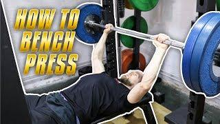 HOW TO DO BENCH PRESS *TUTORIAL WITH TIPS ON HOW TO SET UP SAFELY*