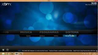 Tutorial En Español||instalar Media Center XBMC+pelisalacarta+creación De Biblioteca