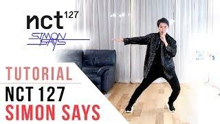 NCT 127  - 'Simon Says' Dance Tutorial (Explanation & Mirrored) | Ellen and Brian
