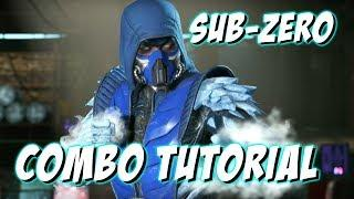 Sub Zero Combo Tutorial (With Inputs and Slow Motion) | Injustice 2