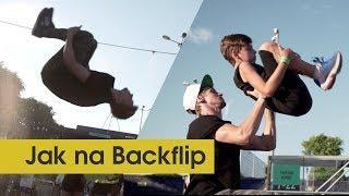 Backflip Tutorial | Naučím to každého za 5 minut? [ENG SUBTITLES]