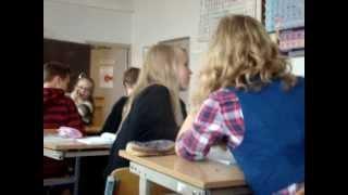 Sietuvos Mokiniai Per Chemijos Pamoka 8b Klase 2012