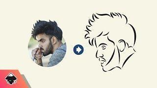 Inkscape Tutorial: Line Portrait