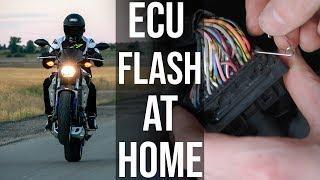 ECU Flashing MT-07 at Home (Tutorial/Impressions) [EP.04]