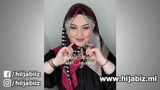 لفات حجاب تركية 2019   لفات حجاب 2019   Hijab Tutorial   Part 7