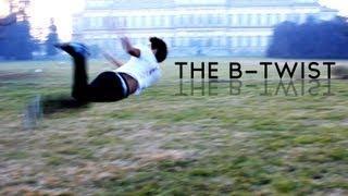 Butterfly Twist Tutorial - Italiano  [ How To Do A B-Twist ]