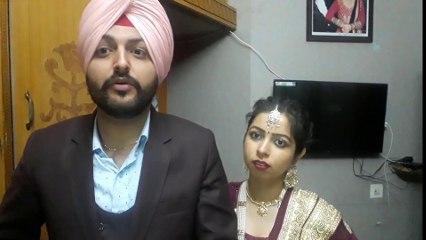 Punajbi Valentine day    Husband wife funny fight   Sirra Couple   Latest Punjabi funny video