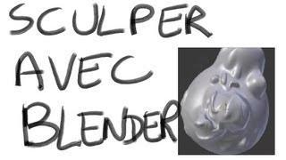 #33 - Blender 2.5 Tutorial Français : Preview Sculpt Mode