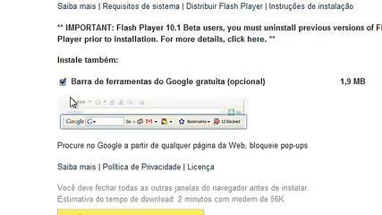 Tutorial: Atualizando O Flash Player