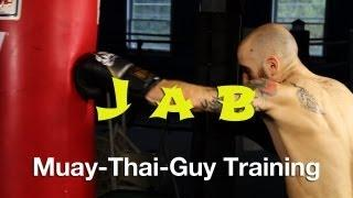 How To Throw A Jab Tutorial - Basic Muay Thai Techniques