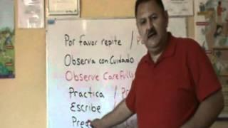 Spanish Lesson 1  Instructions To Tutorials
