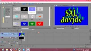 SK/TUTORIALS Sony Vegas Pro 12 - Praca S Textom