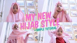 KAMERA JATUH! Tutorial Simple My New Hijab Style Untuk Ke Mall