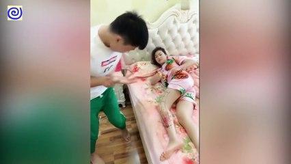 Hài Trung Quốc 2018 ● Đố Bạn Nhịn Được Cười ● China Funny Fail Video Part 3