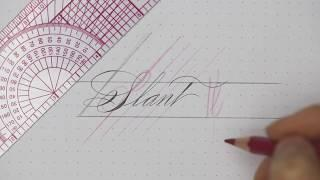 Beginner Calligraphy Tips: How to Stay on Slant | Tutorial by Master Penman Connie Chen