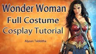 Wonder Woman Costume Guide - Cosplay Tutorial