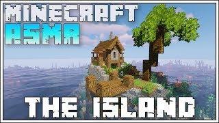 MINECRAFT ASMR ► CUSTOM ISLAND HOUSE TUTORIAL!!!
