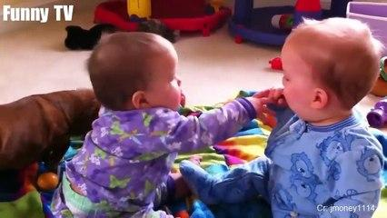 Cute Twins Baby Fighting Over ***** Funny Cute Video_2019  funny videos 0600
