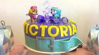 Paw Patrol Cake - Tutorial - Happy Birthday Victoria