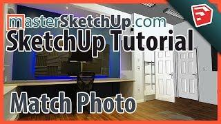 SketchUp Match Photo Tutorial (Easy Method)