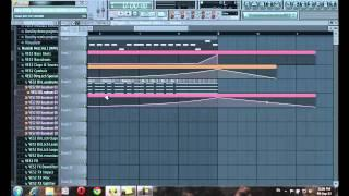 FL STUDIO 11, 2013   TUTORIAL [How To Make Drop For Electro House Progressive Music] Part 1