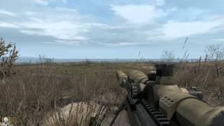 Arma 2 A.C.E Mod Snipe Tutorial ( Russian )