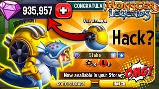 ●Monster Legends  - Steampunk Beasts island tutorial: HACK?? Costs get all ◉‿◉ Stake Scaraborg