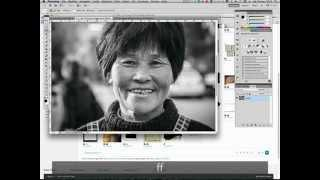 Tutorial Photoshop In Italiano - METODI DI FUSIONE - EFFETTO CORNICE E O TEXTURE GRUNGE