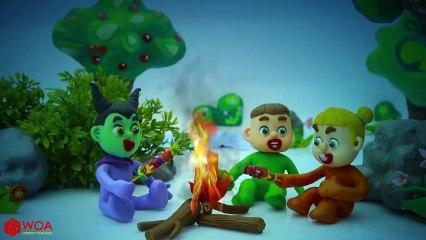 THREE LITTLE KITTENS ???? Baby Funny DIY Halloween Costume ???? Nursery Rhymes & Kids Song
