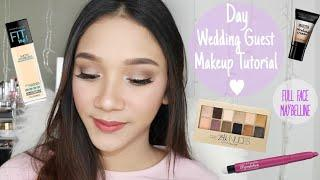 Maybelline One Brand Tutorial - Day Wedding Guest Makeup - Makeup untuk Kondangan