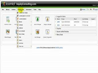 Joomla 1.5  Edit Contact Page Video Tutorial