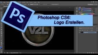 Adobe Photoshop CS6 - Logo Design Erstellen / Selber Machen [Tutorial German Deutsch] Auch Für GIMP