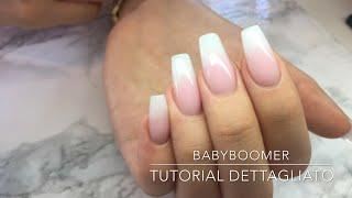 Babyboomer In Gel // Tutorial Dettagliato - Crispynails ♡