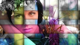 Photoshop Tutorial Italiano - Ritratto Con Collage Intrecciato
