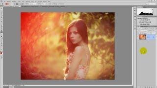 21) Effetto Alte Luci E Bagliore Con Colore - Photoshop - Tutorial Italiano