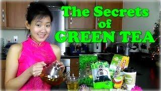 GREEN TEA: Secrets To Flat Belly, Youthful Skin&More